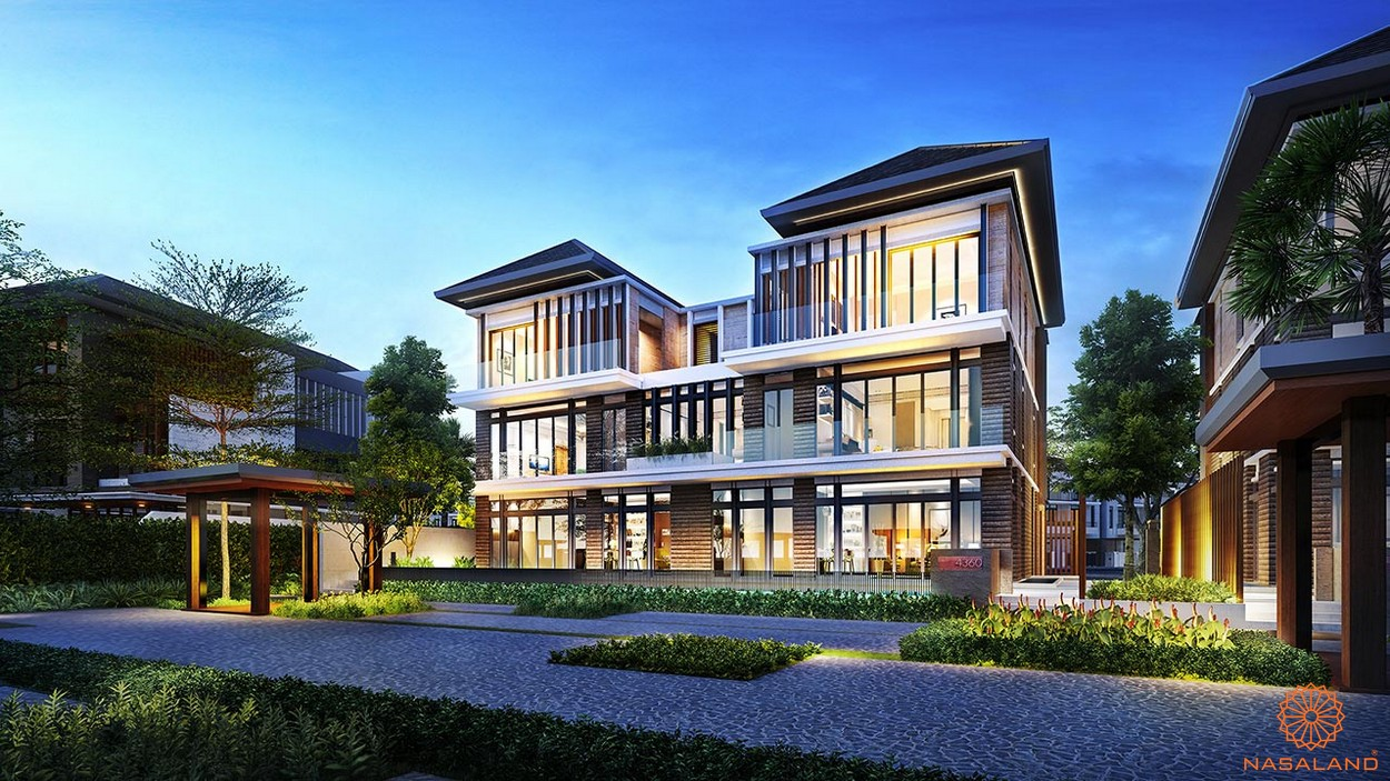 Thiết kế dự án biệt thự Lavila De Rio Nhà Bè