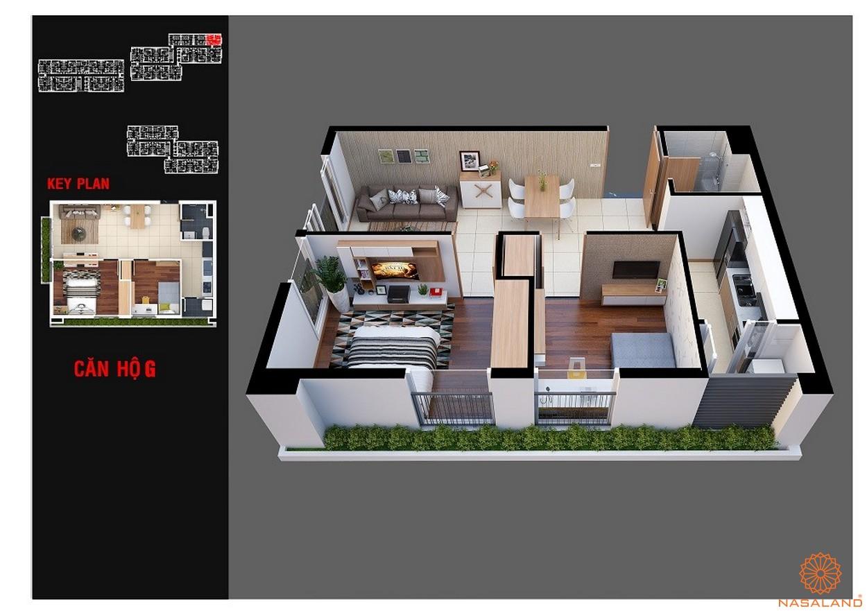 Thiết kế dự án chung cư Diamond Lotus Lake View Tân Phú mẫu G