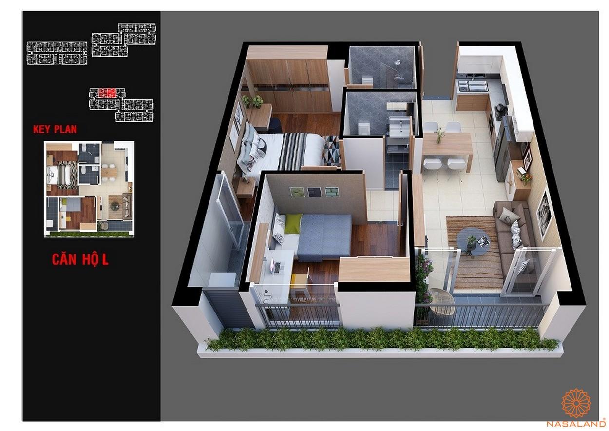 Thiết kế dự án chung cư Diamond Lotus Lake View Tân Phú mẫu L