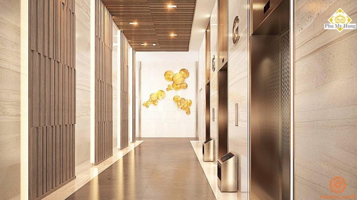 Thiết kế dự án căn hộ chung cư Saigon South Residence Nhà Bè - Hành lang