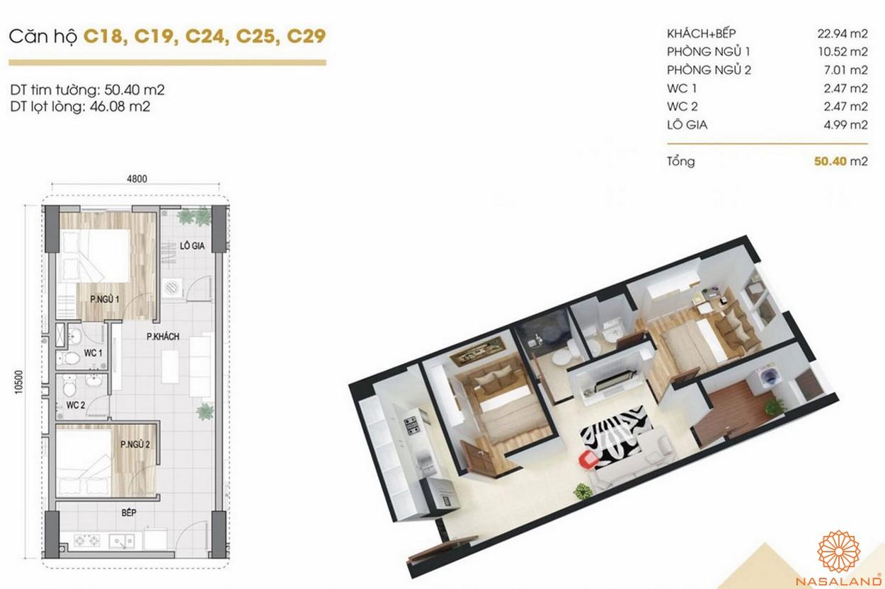 Thiết kế dự án căn hộ Phúc Yên Prosper Phố Đông Thủ Đức 2