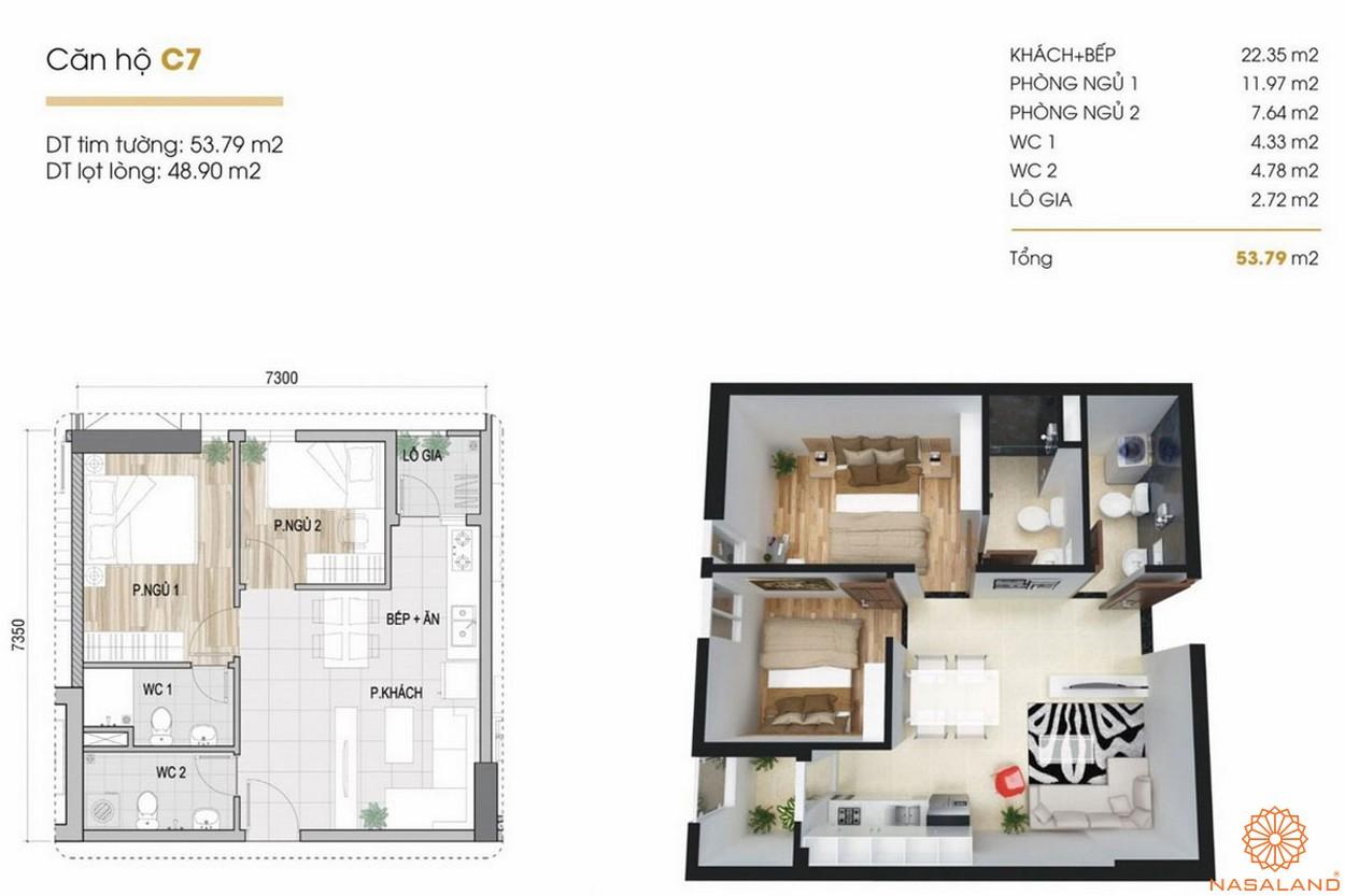 Thiết kế dự án căn hộ Phúc Yên Prosper Phố Đông Thủ Đức 3