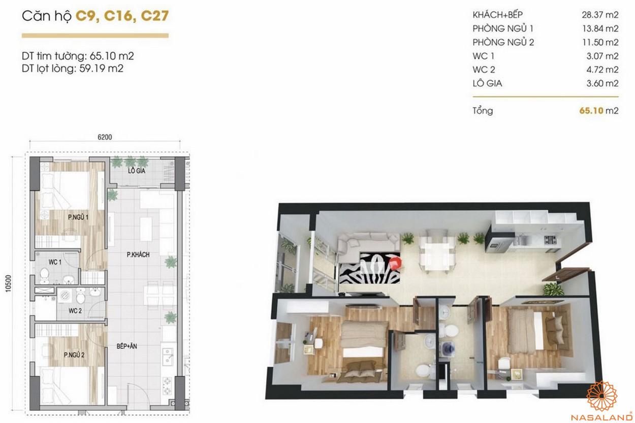 Thiết kế dự án căn hộ Phúc Yên Prosper Phố Đông Thủ Đức 4