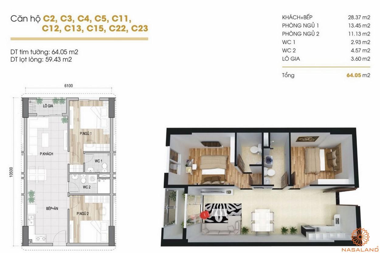Thiết kế dự án căn hộ Phúc Yên Prosper Phố Đông Thủ Đức 1