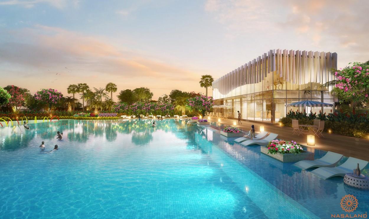 Tiện ích dự án căn hộ chung cư Saigon South Residence Nhà Bè - Hồ bơi