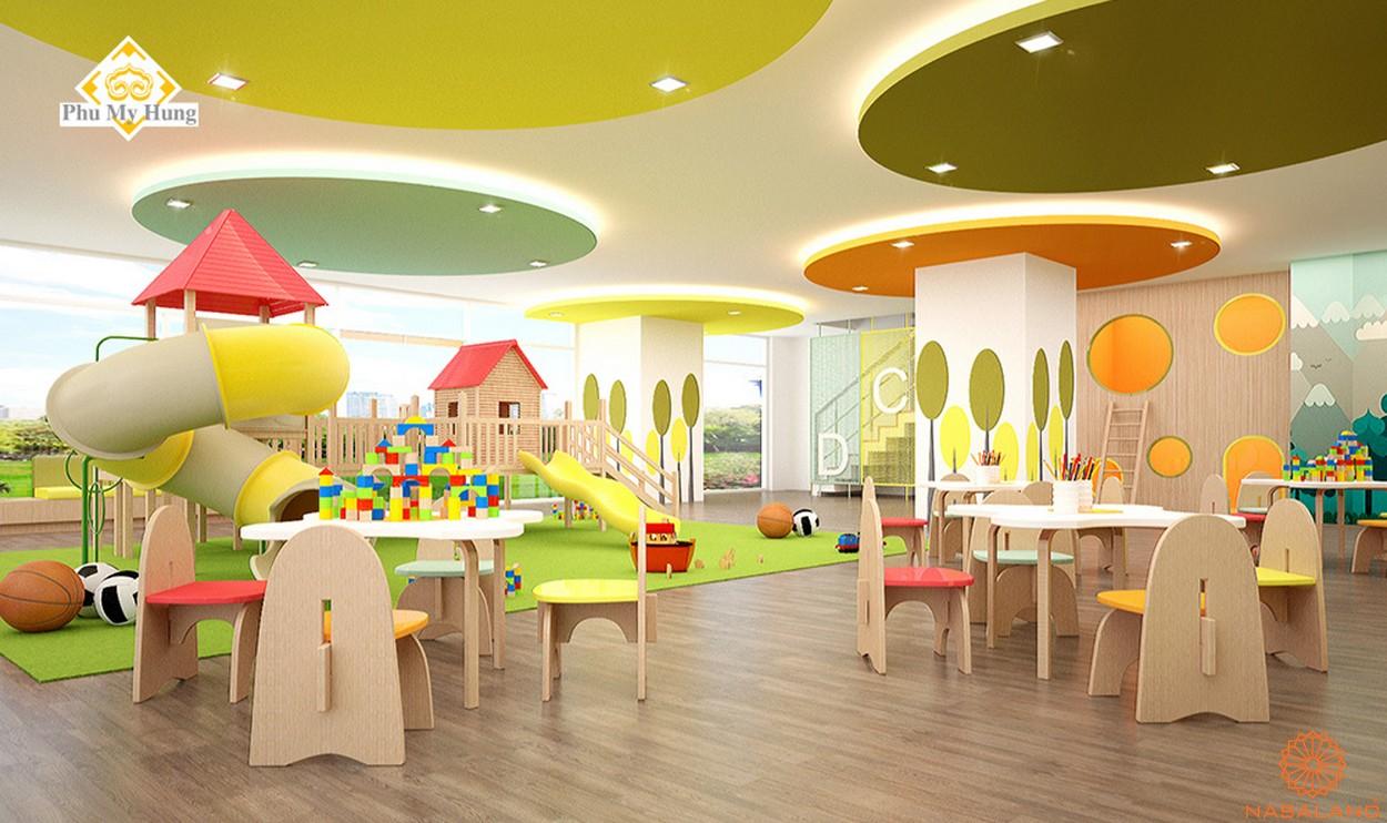 Tiện ích dự án căn hộ chung cư Saigon South Residence Nhà Bè - Khu vui chơi trẻ em