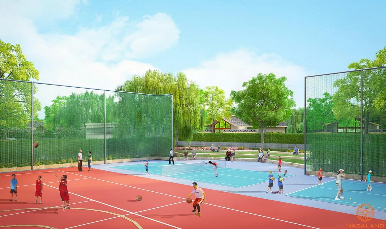 Tiện ích dự án căn hộ chung cư Saigon South Residence Nhà Bè - Khu tập luyện thể thao