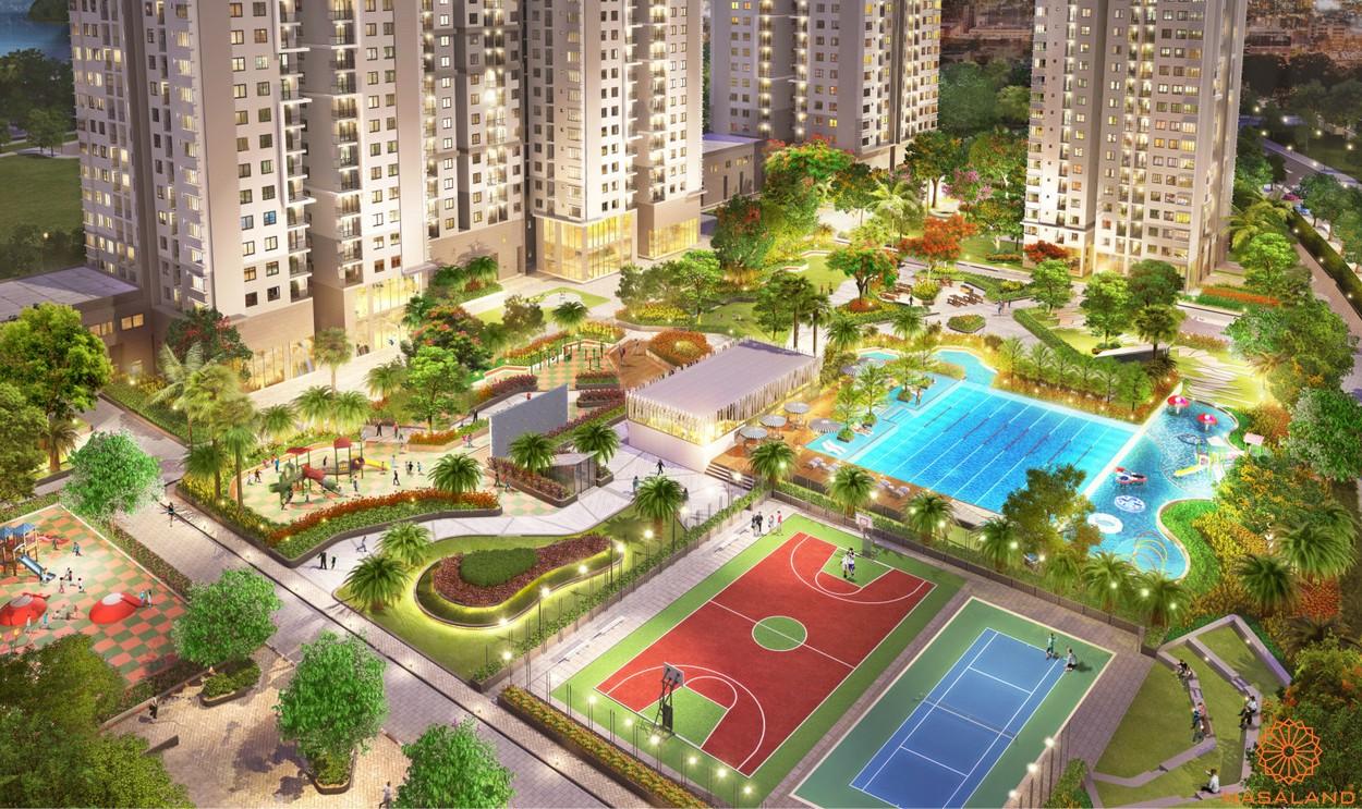 Tiện ích dự án căn hộ chung cư Saigon South Residence Nhà Bè