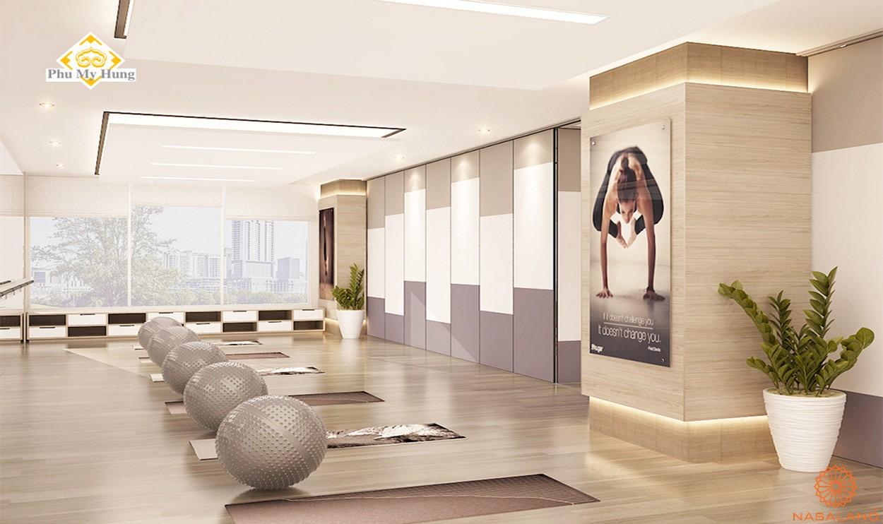 Tiện ích dự án căn hộ chung cư Saigon South Residence Nhà Bè - Yoga