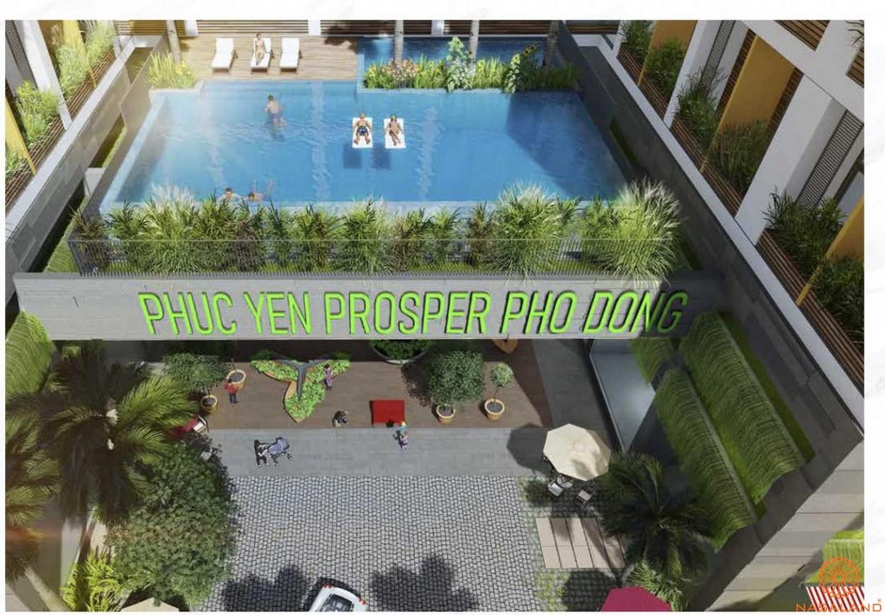 Tiện ích dự án căn hộ Phúc Yên Prosper Phố Đông Thủ Đức - Hồ bơi