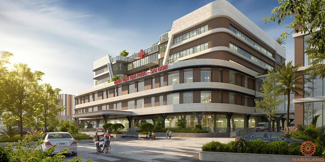 Tiện ích dự án khu đô thị Vạn Phúc City Thủ Đức - Bệnh viện đa khoa Vạn Phúc