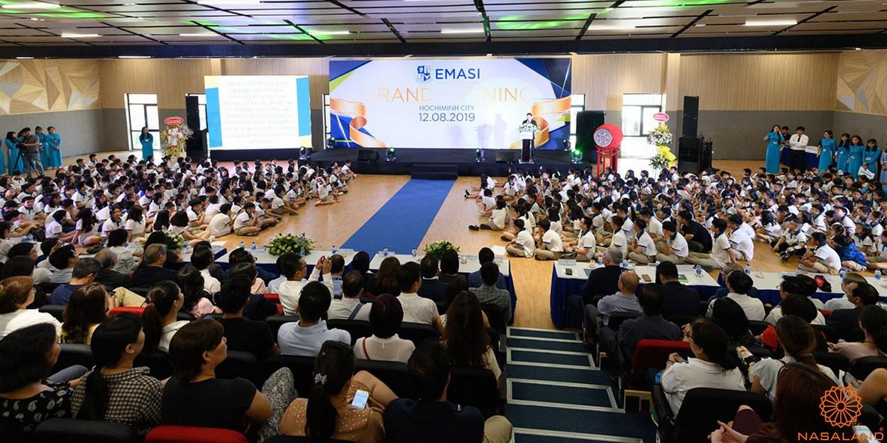 Tiện ích dự án khu đô thị Vạn Phúc City Thủ Đức - Trường học song ngữ quốc tế Emasi