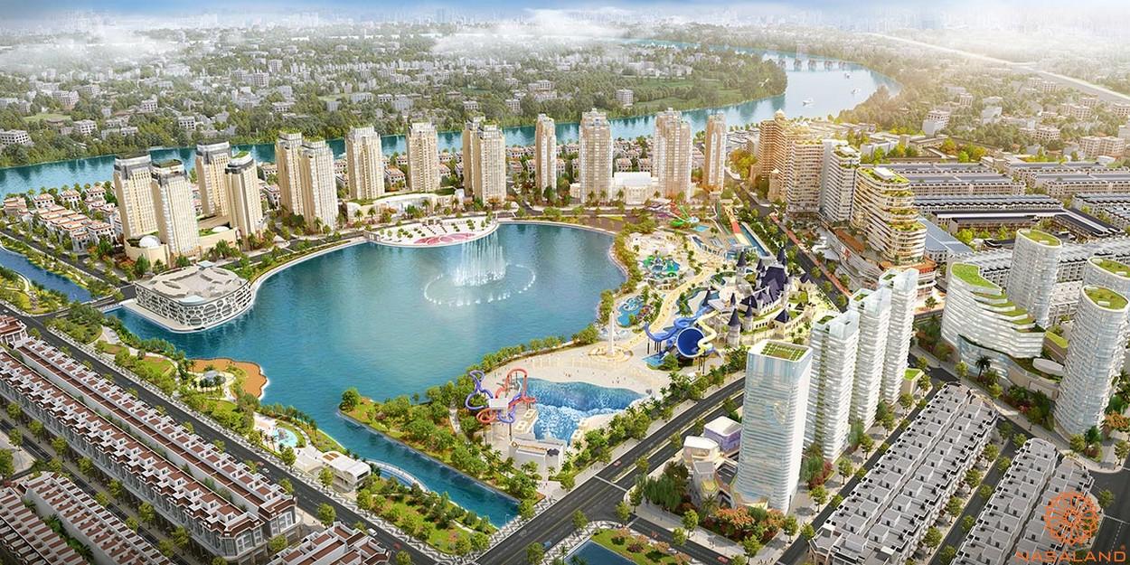 Tiện ích dự án khu đô thị Vạn Phúc City Thủ Đức - Hồ Đại Nhật