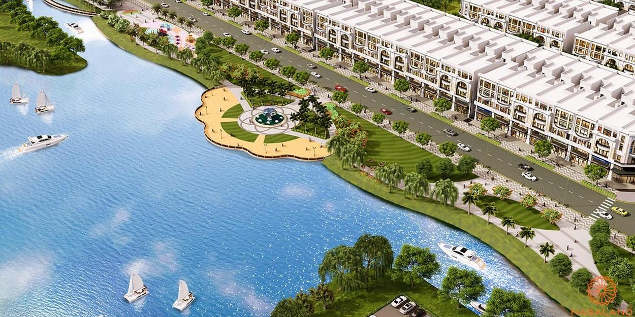 Tiện ích dự án khu đô thị Vạn Phúc City Thủ Đức - Kênh Sông Trăng
