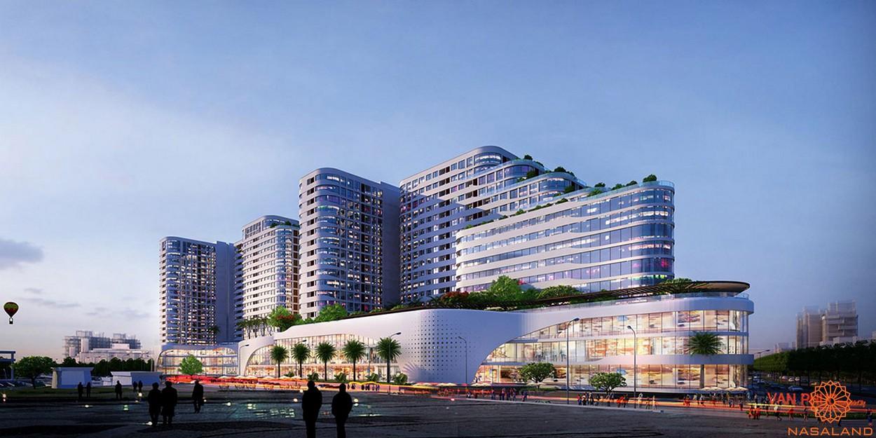 Tiện ích dự án khu đô thị Vạn Phúc City Thủ Đức - Trung tâm thương mại Van Phuc Center