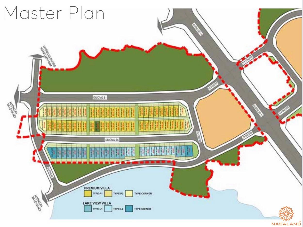 Mặt bằng dự án căn hộ The 9 Stellars quận 9 - Giai đoạn 1