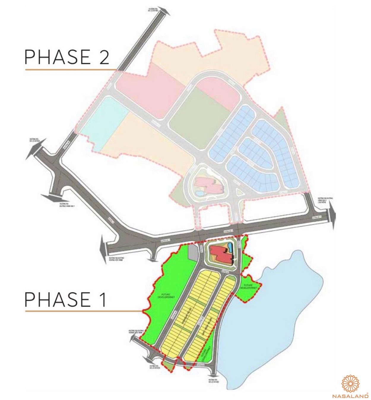 Mặt bằng dự án căn hộ The 9 Stellars quận 9 - Tổng thể
