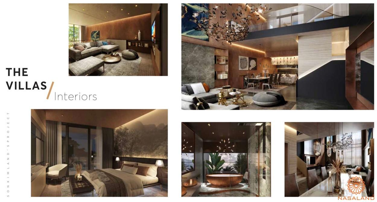 Thiết kế dự án căn hộ The 9 Stellars quận 9 - Loại biệt thự