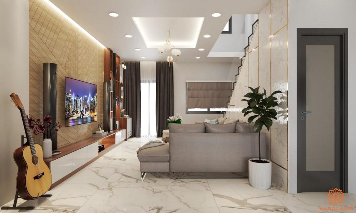 Thiết kế nhà phố Thăng Long Homev