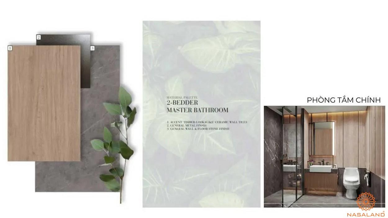 Nội thất dự án căn hộ Grand Marina Saigon quận 1 - phòng vệ sinh