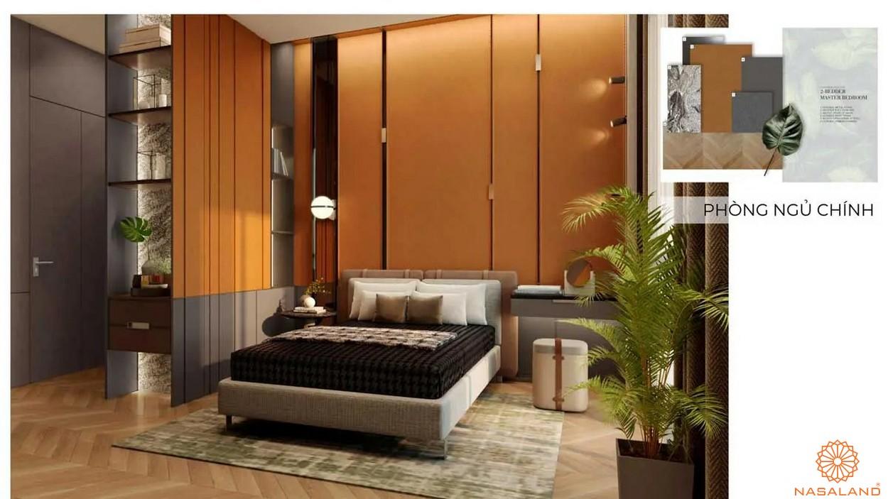 Nội thất dự án căn hộ Grand Marina Saigon quận 1 - phòng ngủ