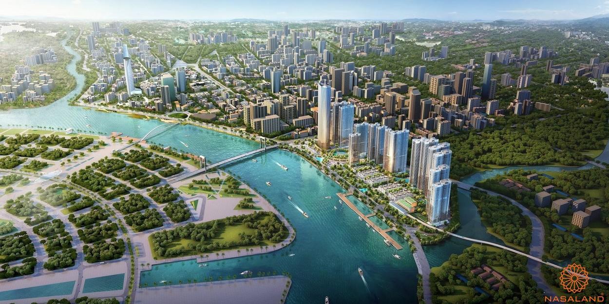 Phối cảnh tổng thể dự án Grand Marina Saigon quận 1