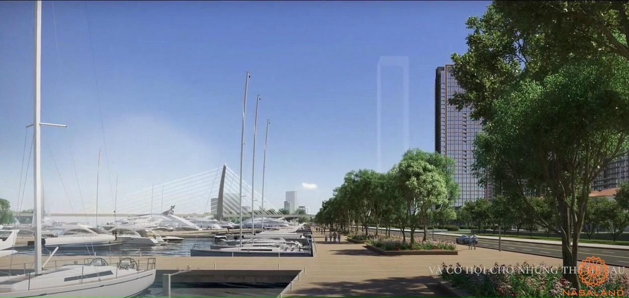 Phối cảnh dự án căn hộ Grand Marina Saigon quận 1