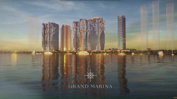 Phối cảnh tổng thể dự án căn hộ Grand Marina Saigon quận 1