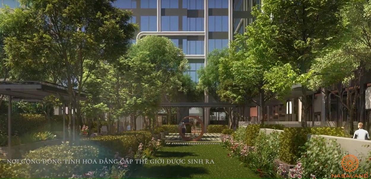 Tiện ích dự án căn hộ Grand Marina Saigon quận 1 - công viên