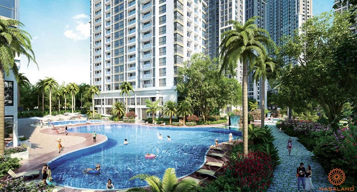 Tiện ích dự án căn hộ Grand Marina Saigon quận 1 - hồ bơi