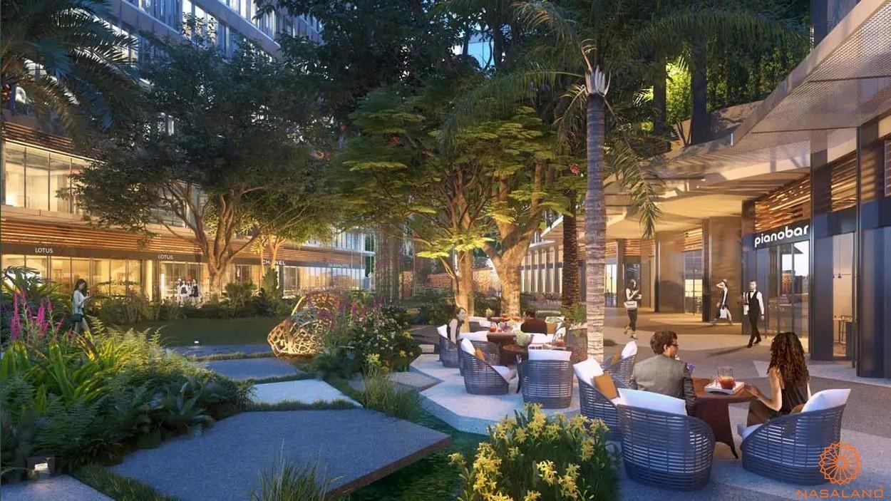 Tiện ích dự án căn hộ Grand Marina Saigon quận 1 - nhà hàng