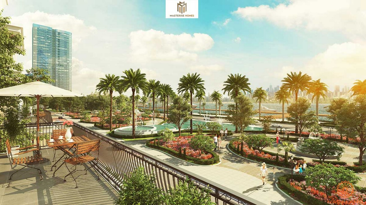 Tiện ích dự án căn hộ Grand Marina Saigon quận 1 - nội khu