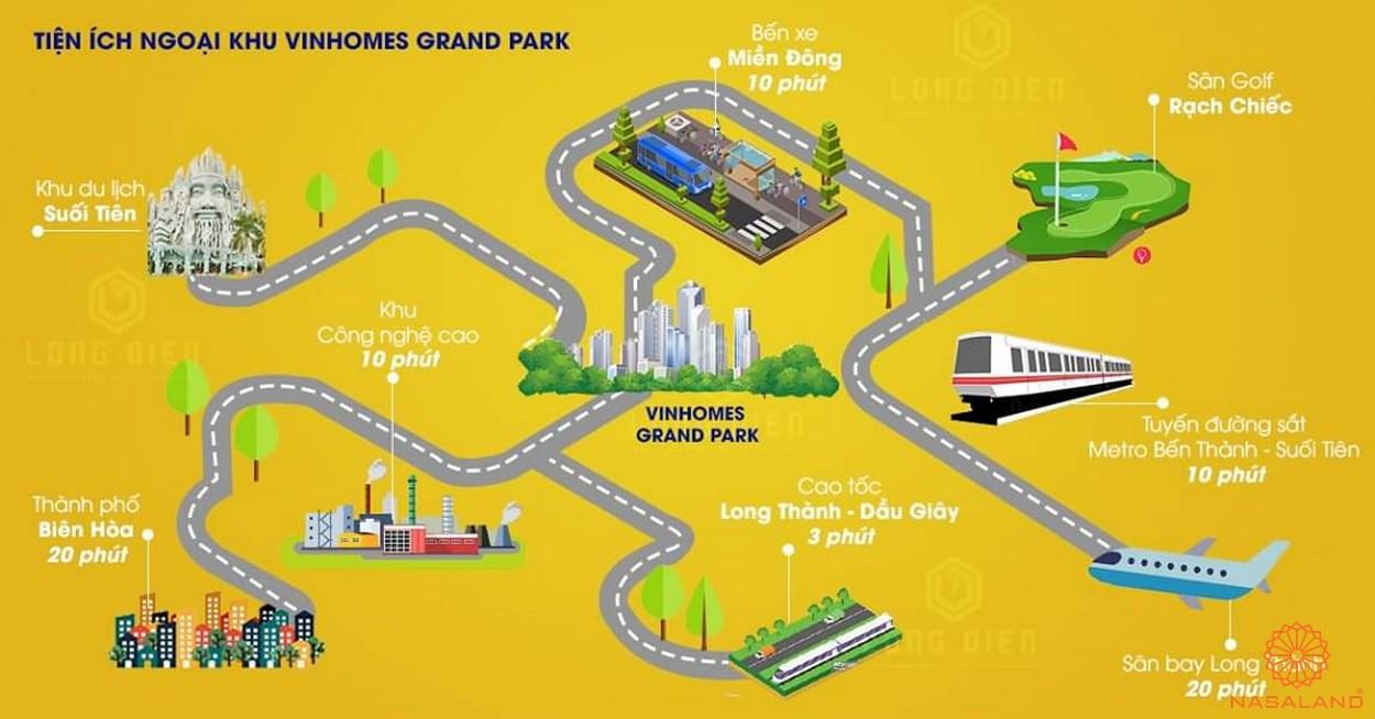 du an the beverly vinhomes grand park quan 9 1 Vị trí dự án căn hộ The Beverly Vinhomes Grand Park Quận 9