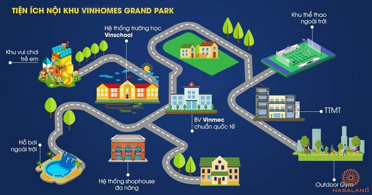 du an the beverly vinhomes grand park quan 9 6 Vị trí dự án căn hộ The Beverly Vinhomes Grand Park Quận 9