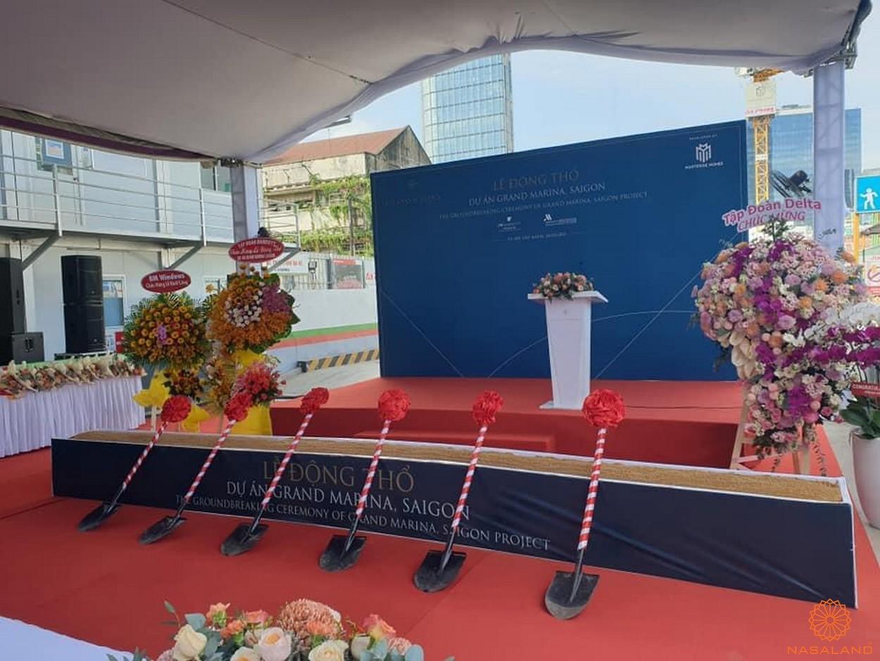 Lễ động thổ dự án Grand Marina Saigon trung tâm quận 1