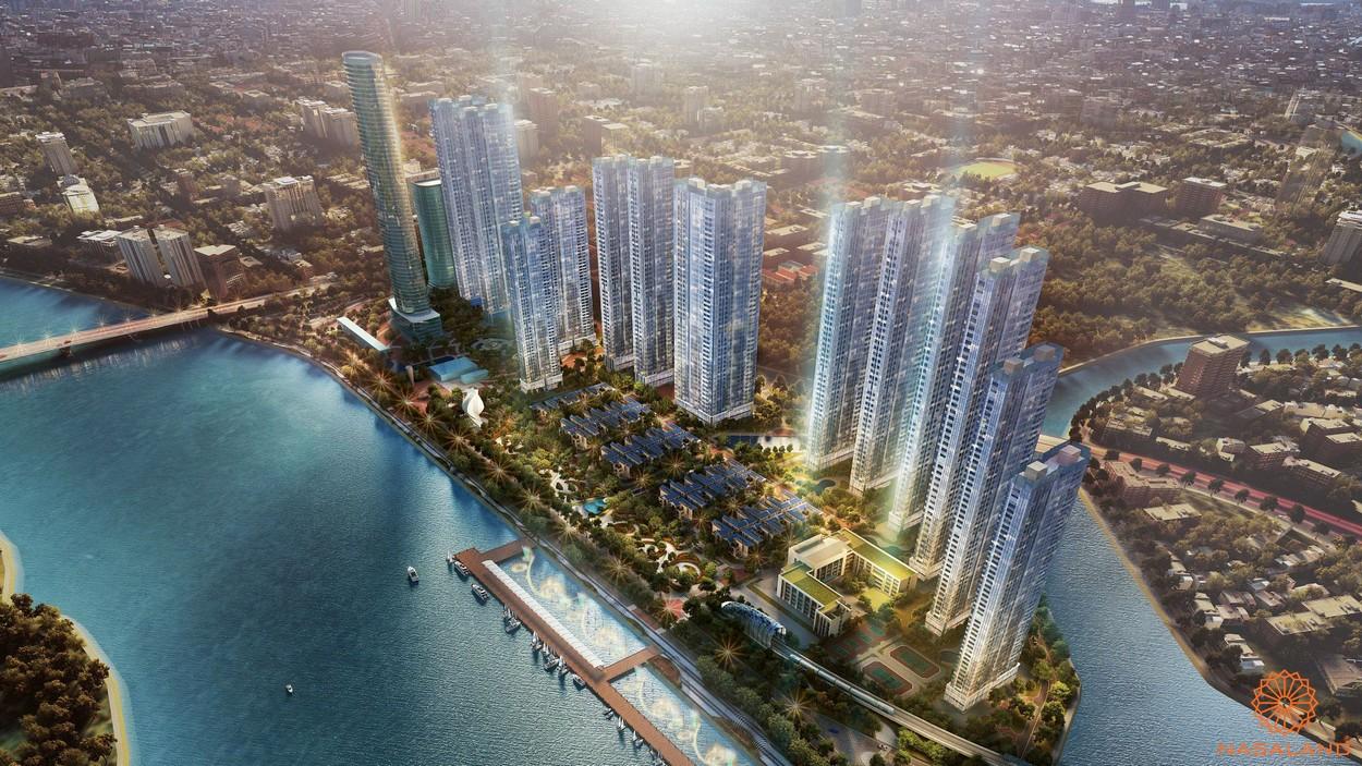 Lễ động thổ dự án Grand Marina Saigon-phối cảnh dự án
