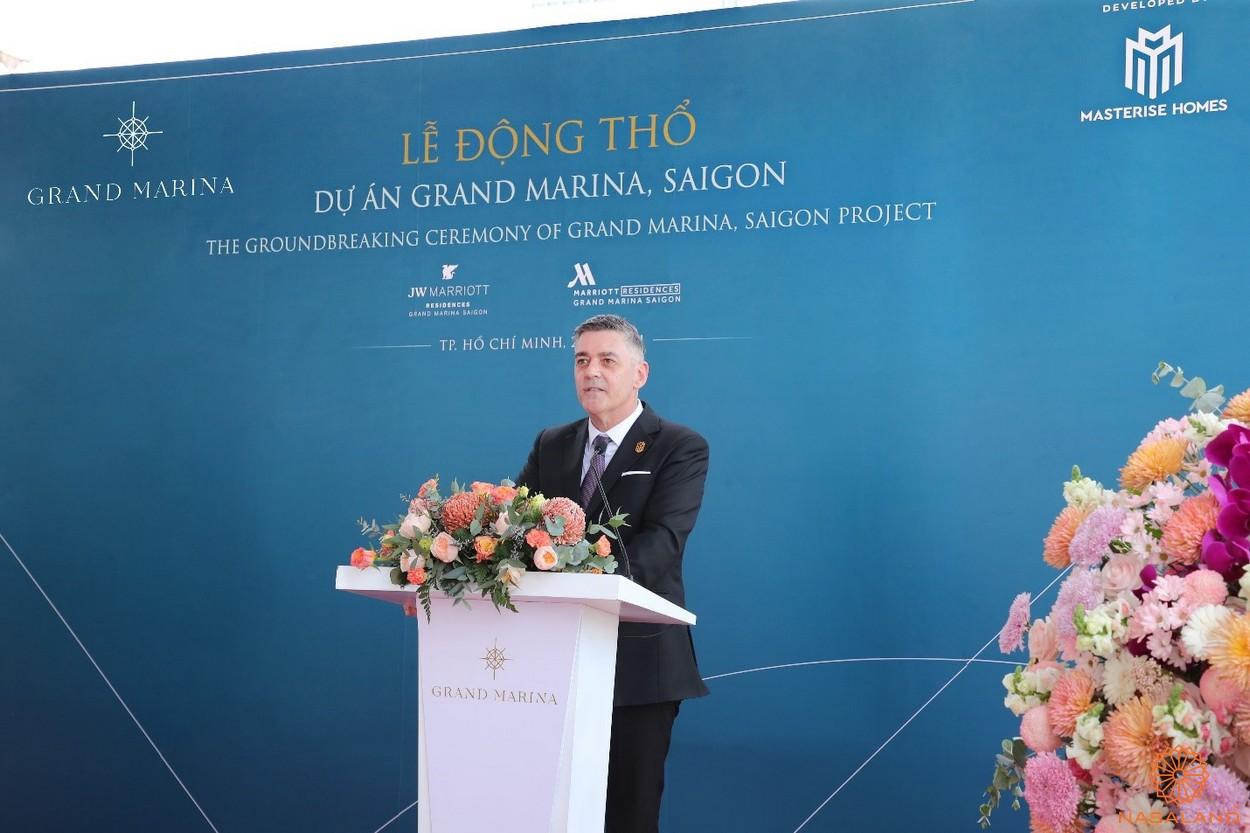 Lễ động thổ dự án Grand Marina Saigon-phát biểu của ban lãh đạo Masterise