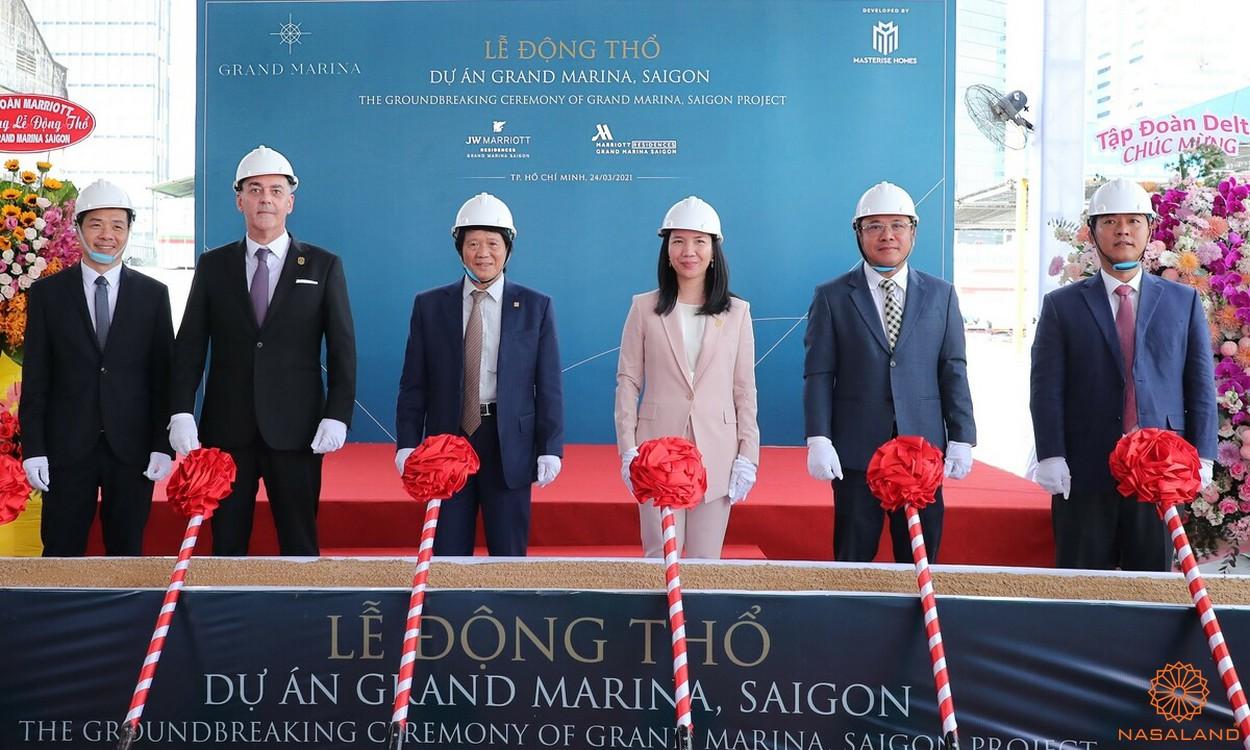 Lễ động thổ dự án Grand Marina Saigon