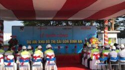 Lễ khởi công dự án Khu đô thị Sài Gòn Bình An quận 2 - Khai mạc
