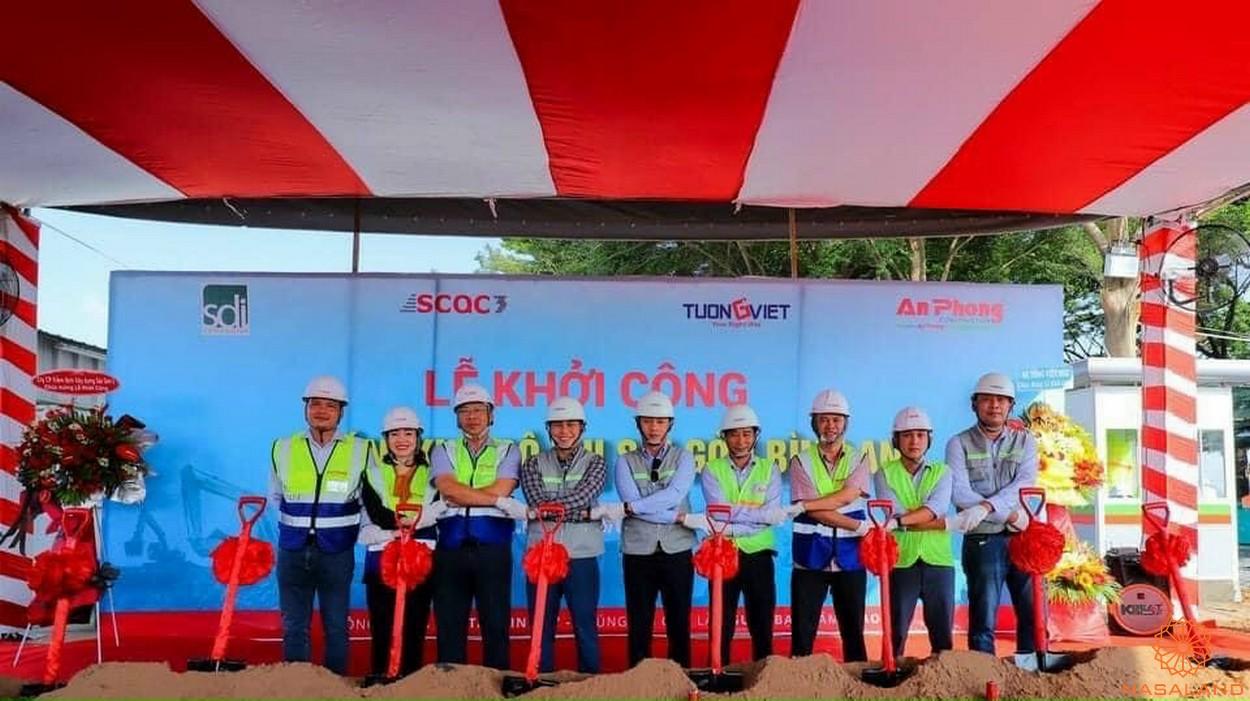 Lễ khởi công dự án Khu đô thị Sài Gòn Bình An