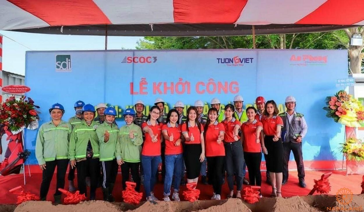 Lễ khởi công dự án Khu đô thị Sài Gòn Bình An quận 2 - Công nhân viên