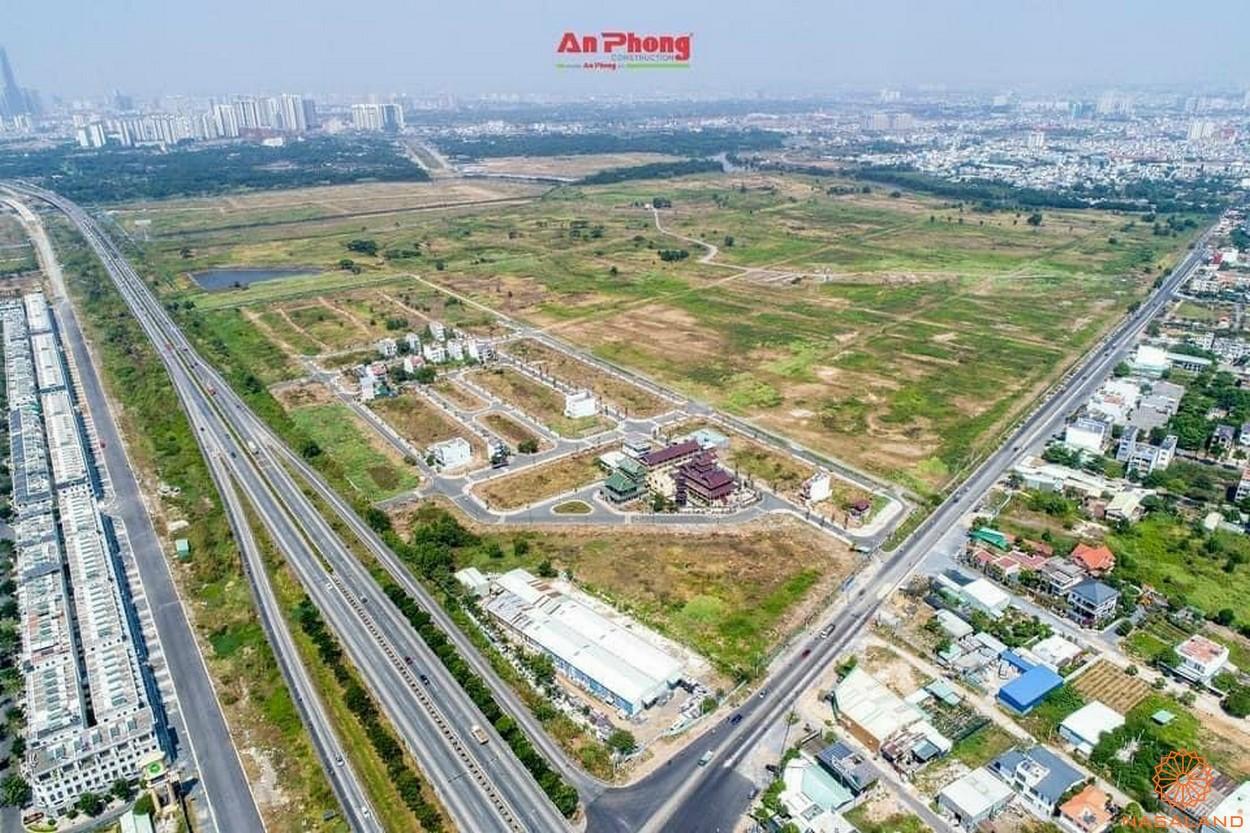 Tổng thể mặt bằng dự án Khu đô thị Sài Gòn Bình An