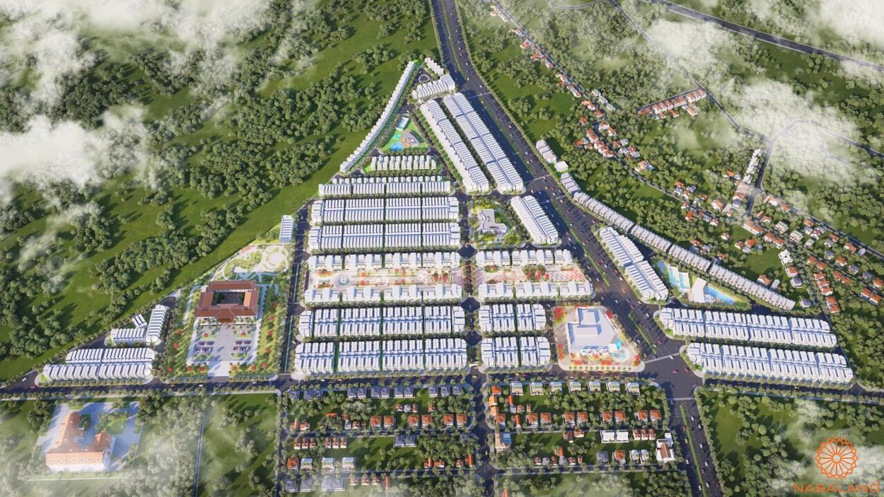 Mặt bằng dự án đất nền Lộc Ninh Diamond City Bình Phước