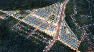 Phối cảnh tổng thể dự án đất nền Lộc Ninh Diamond City Bình Phước