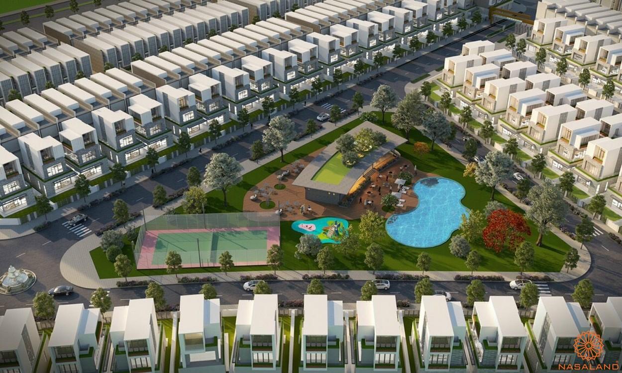 Phối cảnh dự án đất nền Lộc Ninh Diamond City Bình Phước