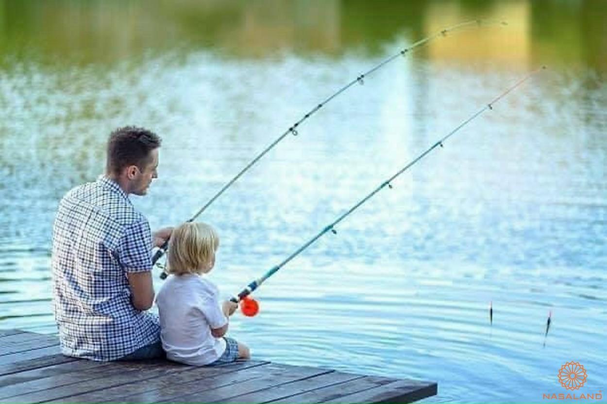 Tăng tiện ích Vinhomes quận 9 - Câu cá