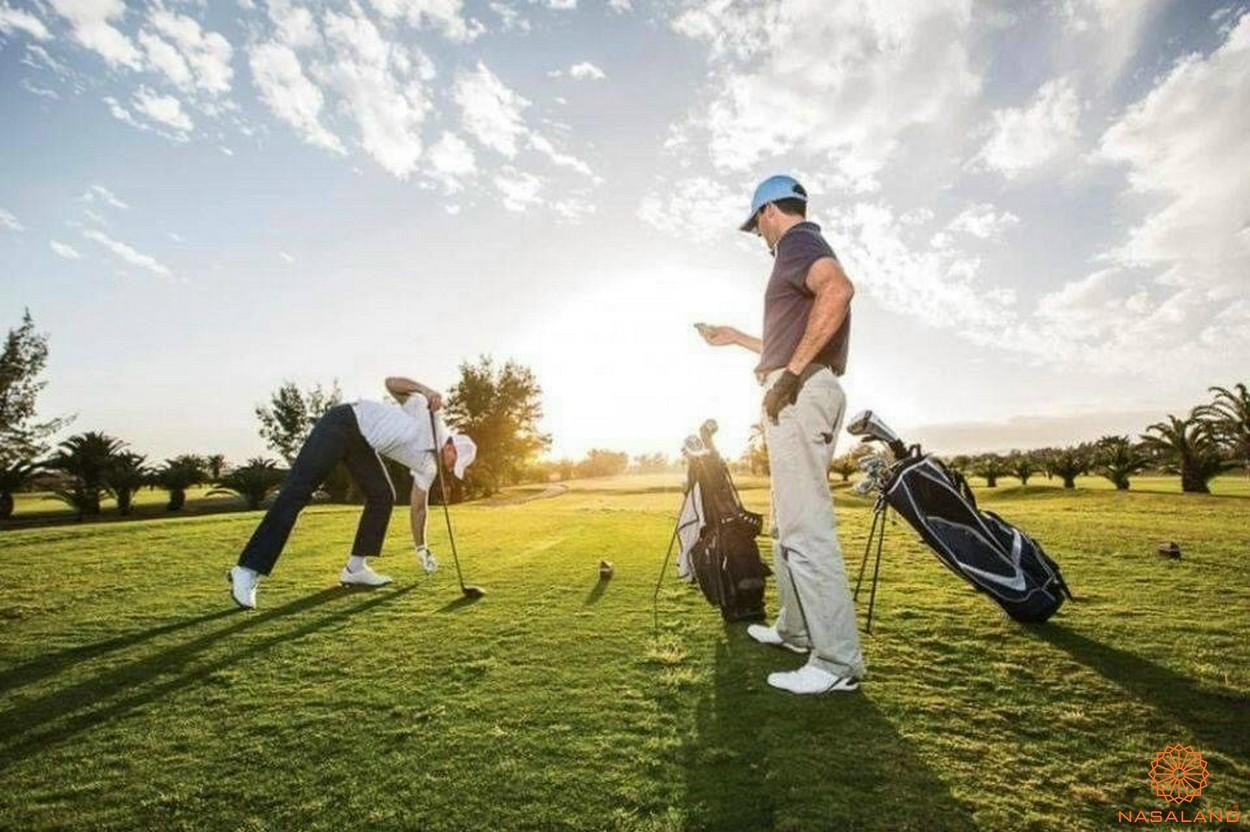 Tăng tiện ích Vinhomes quận 9 - sân Golf