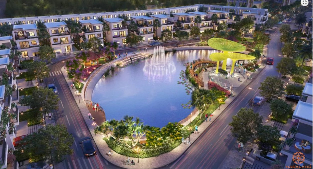 Tiện ích dự án căn hộ Dragon Sky View Thủ Đức - Hồ cảnh quang nội khu