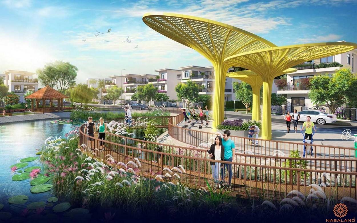 Tiện ích dự án căn hộ Dragon Sky View Thủ Đức - Công viên nội khu
