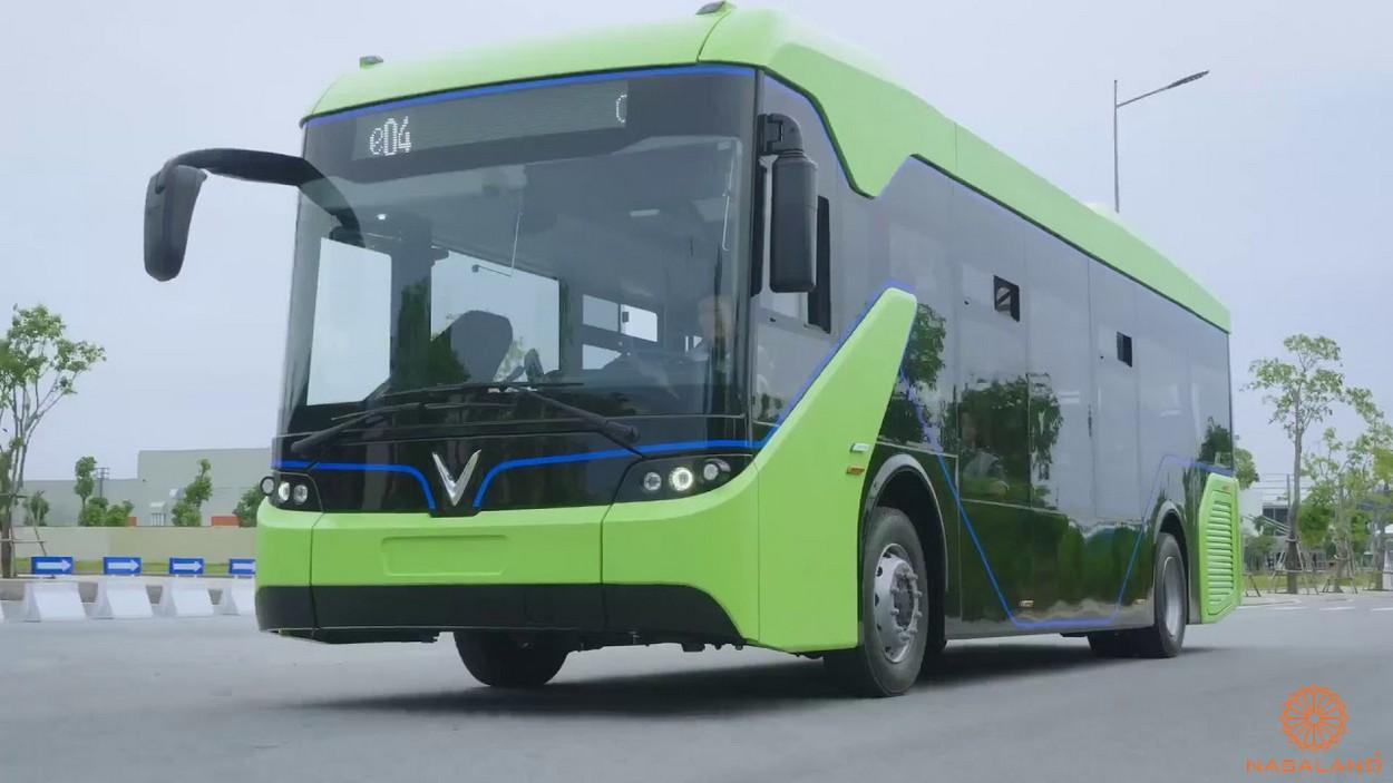 Lịch trình xe điện Vinbus hiện đại